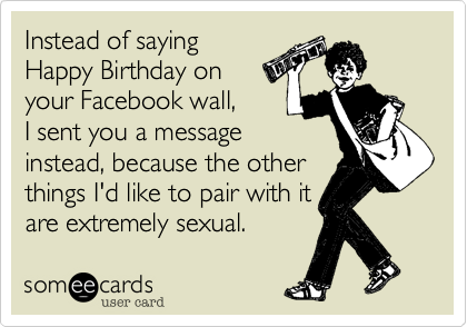 Instead of saying