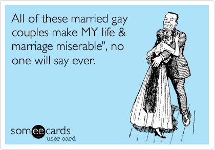 All of these married gay