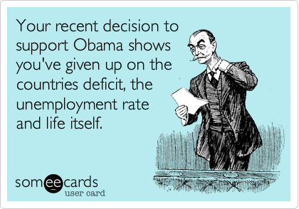 Your recent decision to