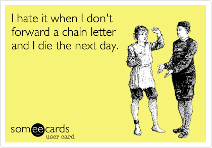 I hate it when I don't