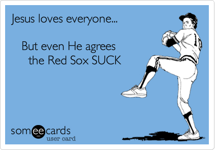 Jesus loves everyone...