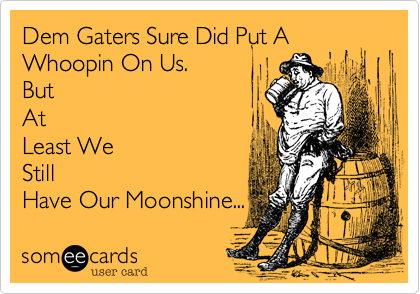 Dem Gaters Sure Did Put A Whoopin On Us.