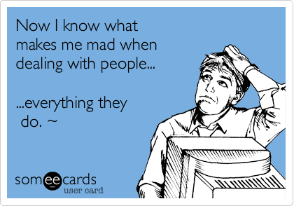 Now I know what