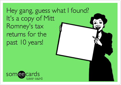 Hey gang, guess what I found?