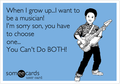 When I grow up...I want to
