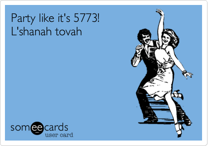 Party like it's 5773!