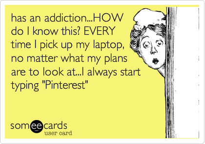 has an addiction...HOW