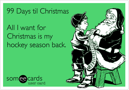 99 Days til Christmas