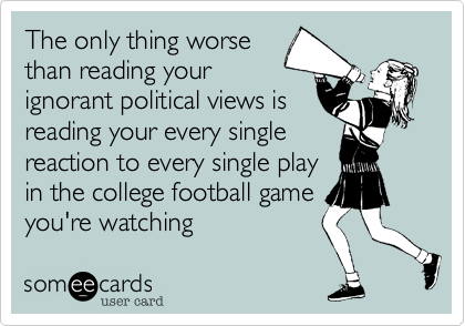 The only thing worse