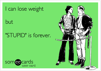 I can lose weight