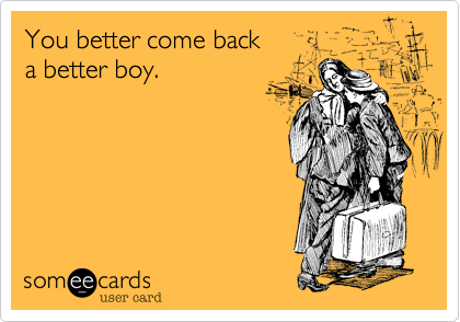 You better come back