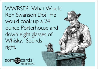WWRSD?  What Would