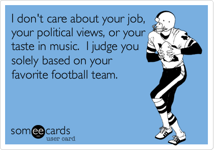 I don't care about your job,
