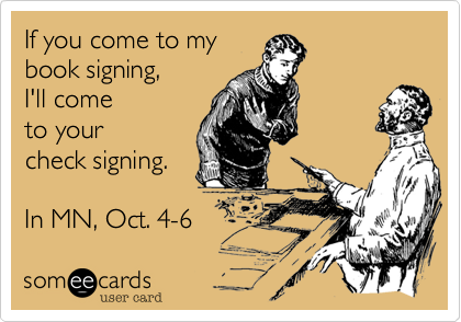 If you come to my