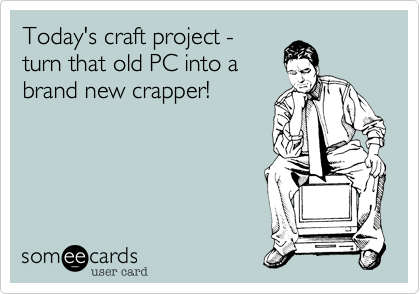Today's craft project -