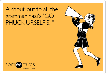 A shout out to all the