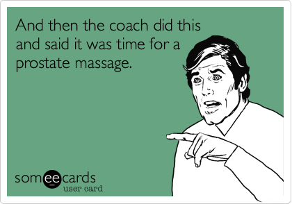And then the coach did this