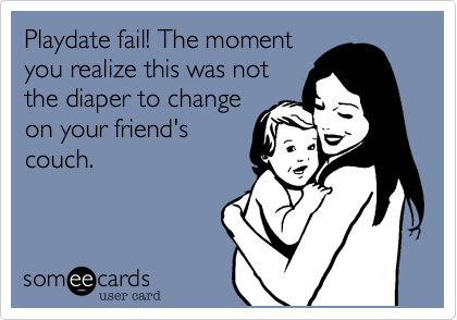 Playdate fail! The moment