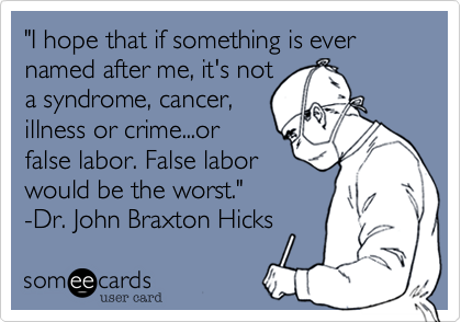 """I hope that if something is ever named after me, it's not