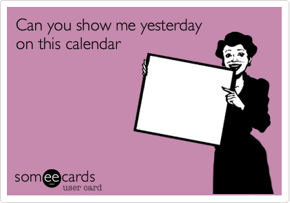 Can you show me yesterday