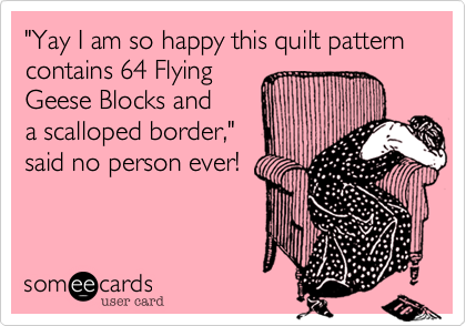 """Yay I am so happy this quilt pattern