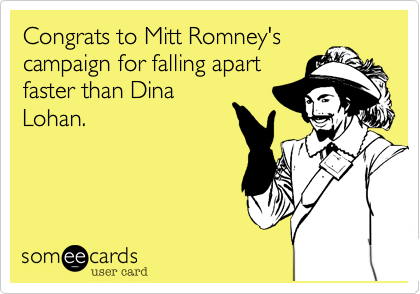 Congrats to Mitt Romney's