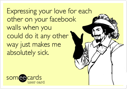 Expressing your love for each