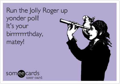 Run the Jolly Roger up