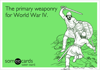 The primary weaponry
