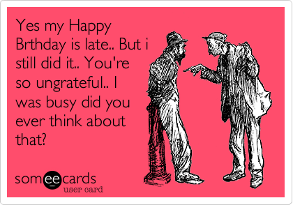 Yes my Happy