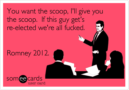 You want the scoop, I'll give you the scoop.  If this guy get's