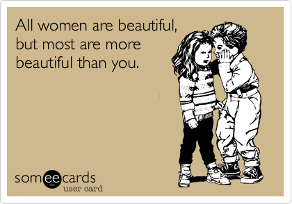 All women are beautiful,