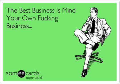 The Best Business Is Mind