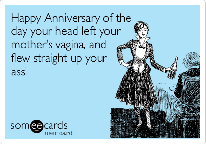 Happy Anniversary of the