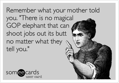"Remember what your mother told you. ""There is no magical