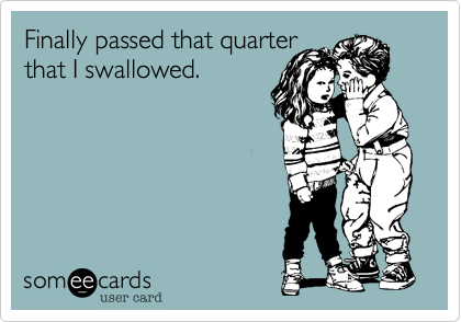 Finally passed that quarter 