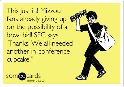 This just in! Mizzou