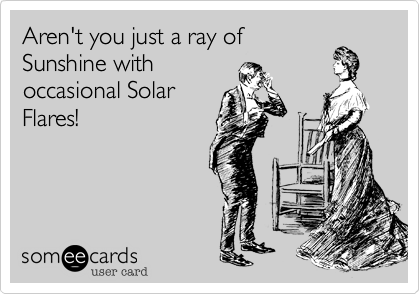 Aren't you just a ray of