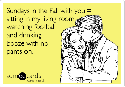 Sundays in the Fall with you =