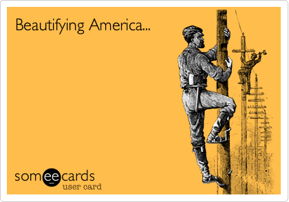 Beautifying America...