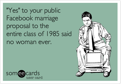 """Yes"" to your public