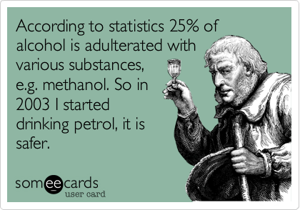 According to statistics 25% of