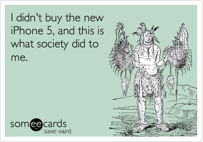 I didn't buy the new