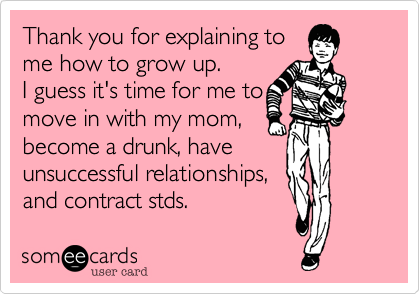 Thank you for explaining to