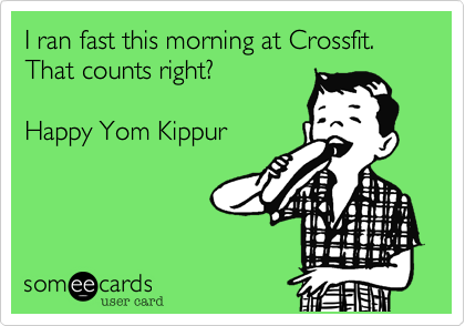 I ran fast this morning at Crossfit. That counts right?