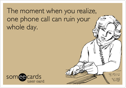 The moment when you realize,
