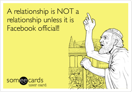 Make Facebook Relationship When Official A To