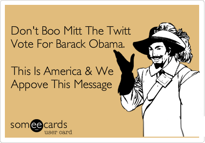 Don't Boo Mitt The Twitt