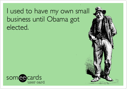I used to have my own small