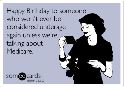 Happy Birthday to someone